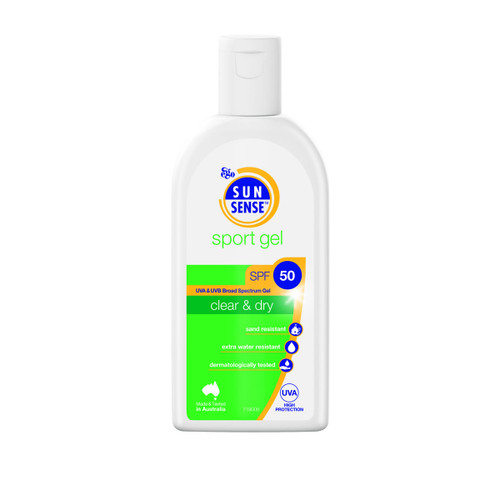 Sunsense SPF50+ Sports sunscreen gel 125ml