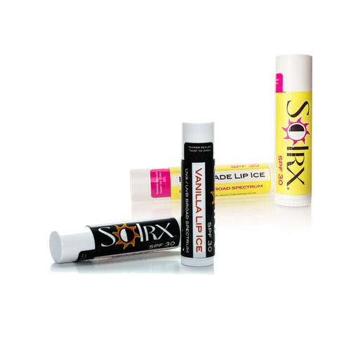 SolRX lip ice lip balm sunscreen spf30