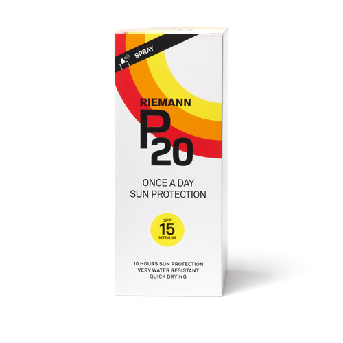 Riemann P20 SPF15 sunscreen spray 200ml