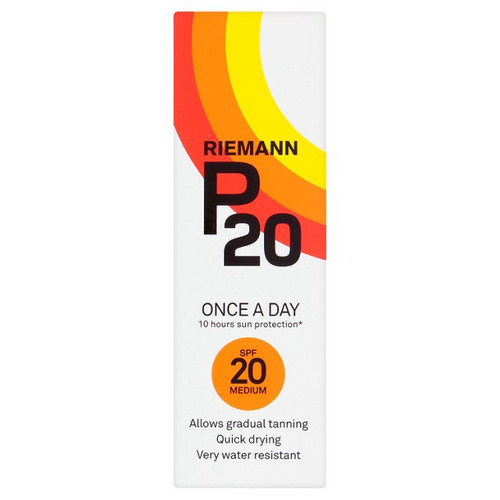 Riemann P20 SPF20 sunscreen 100ml