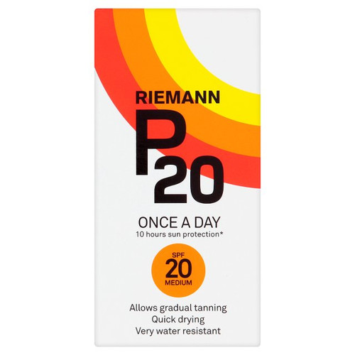 Riemann P20 SPF20 sunscreen 200ml