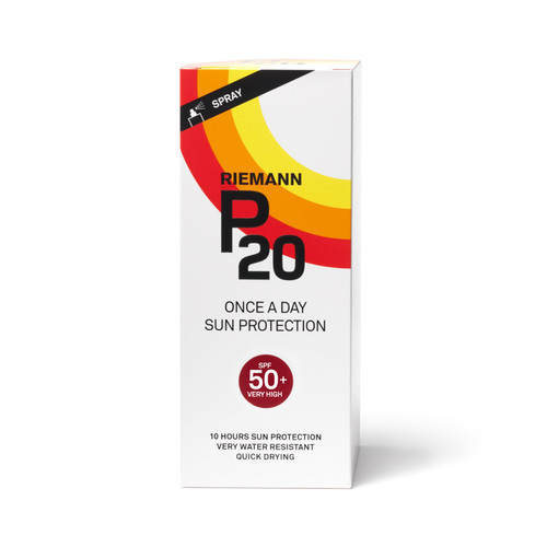 Riemann P20 SPF50 sunscreen spray 200ml