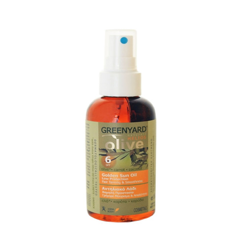 Greenyard Naturals Olive Golden Sun Tanning Oil SPF6 (150ml)