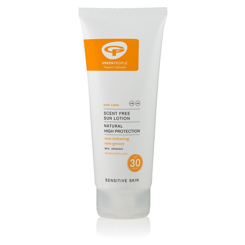 Green People Organic Scent Free Sun Lotion SPF30 (200ml)