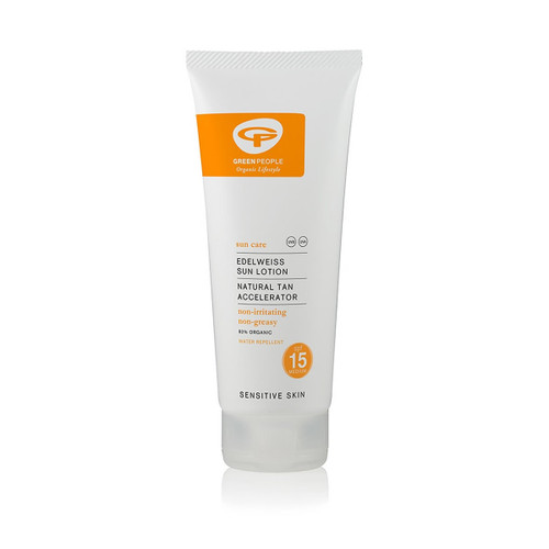 Green People Organic Scent Free Sun Lotion SPF15 (200ml)