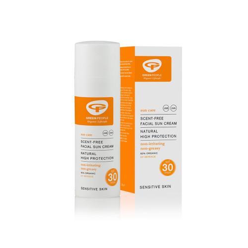 Green People Organic Facial Sun Cream Lotion SPF30 (50ml)