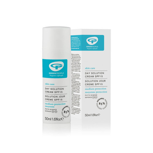 Green People Organic Day Solution Cream SPF15 (50ml)