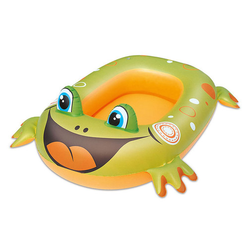 Bestway inflatable swimming pool rife-on boat frog