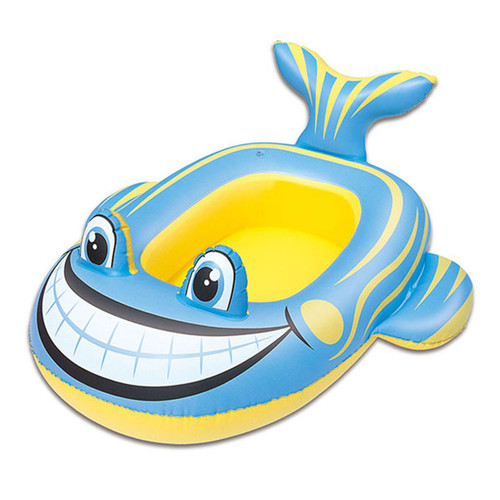 Bestway inflatable swimming pool rife-on boat whale