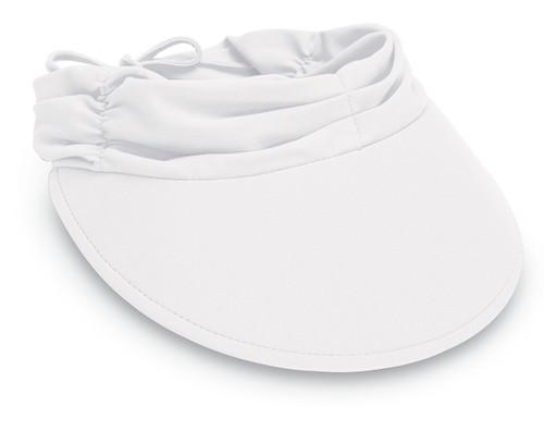 Womens wallaroo aqua visor cap white 4ff1988ad8f7