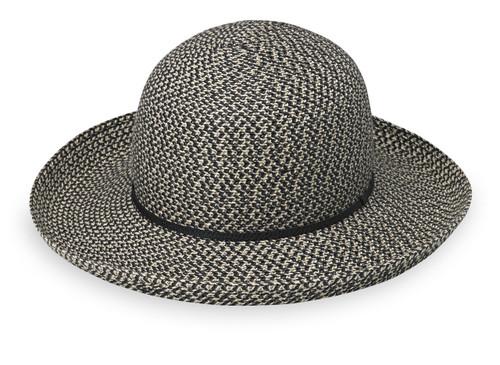 Womens Wallaroo hats amelia upf50+ sun hat black