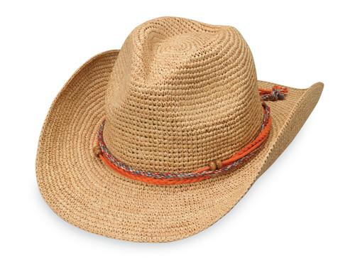 Wallaroo Hats womens catalina cowboy hat natural