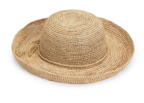 Wallaroo womens catalina sun hat natural
