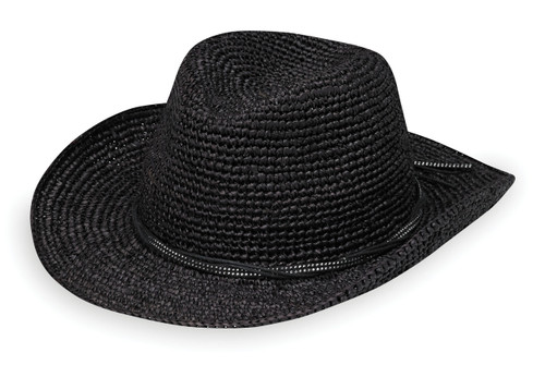 Womens Wallaroo Hat company hannah black
