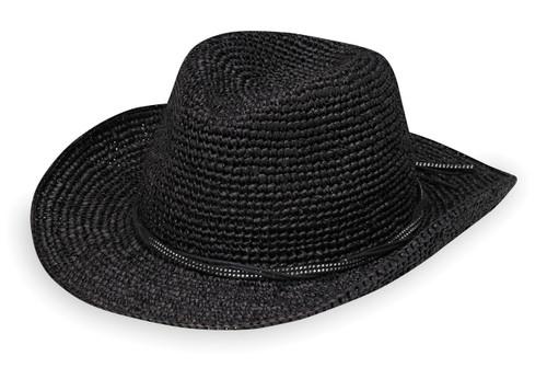 Womens Wallaroo Hat company hannah black
