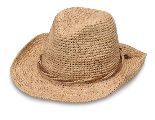 Womens wallarro hat company hailey hat natural