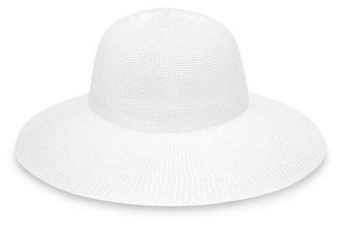 Womens wallaroo victoria diva hat white