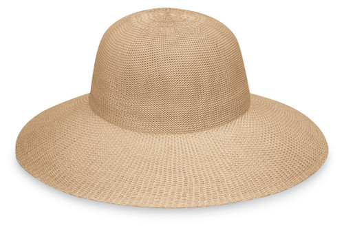 Womens wallaroo victoria diva hat tan