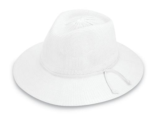 Womens Wallaroo victoria fedora upf50 hat white 54fa03e8e2c5