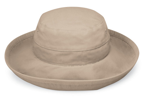 Womens Wallaroo Casual traveler upf50 hat camel