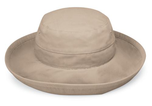 Womens Wallaroo Casual traveler upf50 hat camel