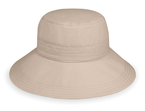 Womens Wallaroo UPF50+ sun hat piper beige