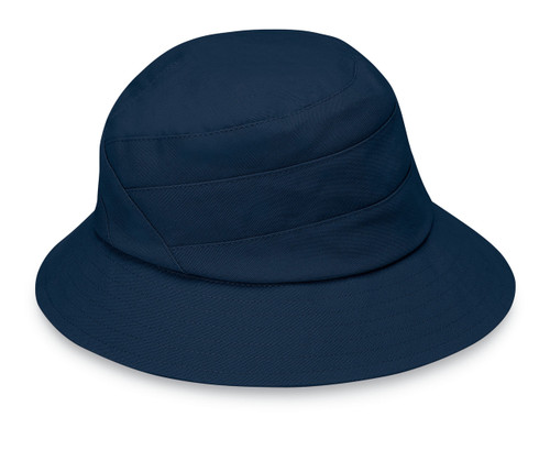 Womens Wallaroo Taylor UPF50 sun hat navy