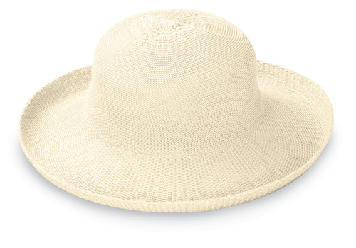 Girls womens petite victoria hat upf50 natural