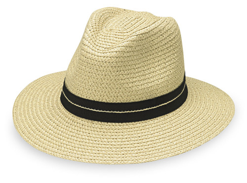Mens Wallaroo Blake UPF30 sun hat ivory
