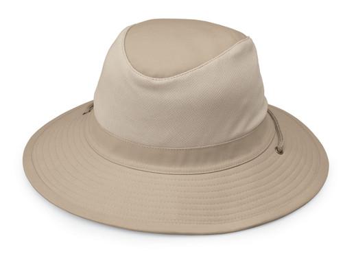 Wallaroo Mens UPF50 Jackson hat camel