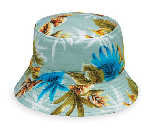 Baby wallaroo maui upf50+ sun hat seafoam
