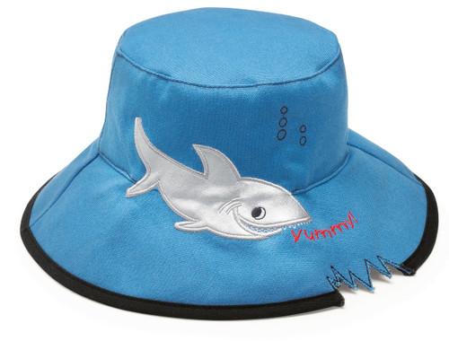 Wallaroo UPF50+ UV sun hat shark
