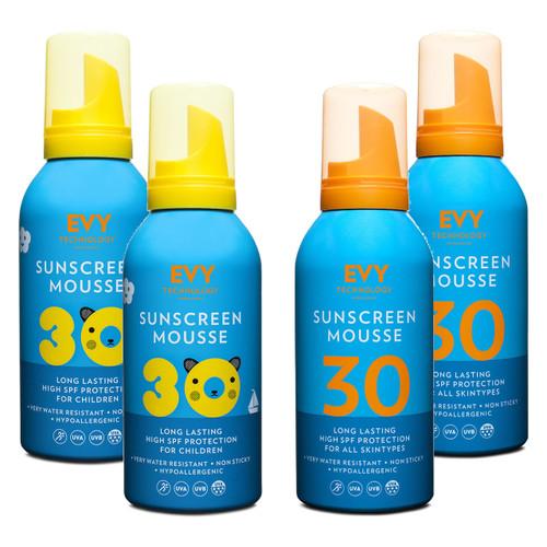 Evy Technology proderm family sun pack