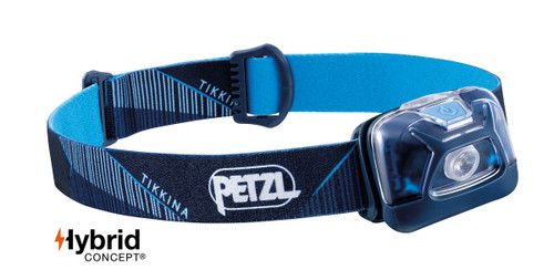 Petzl Tikkina headtorch blue