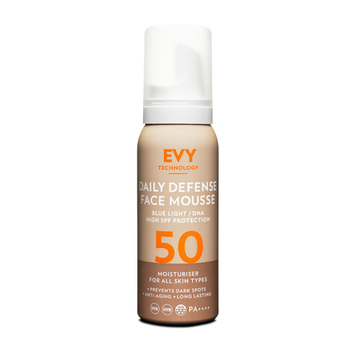 Evy daily defense spf50 face mousse