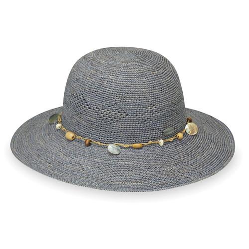 Women's Wallaroo hat Ojai bucket hat dusty blue main