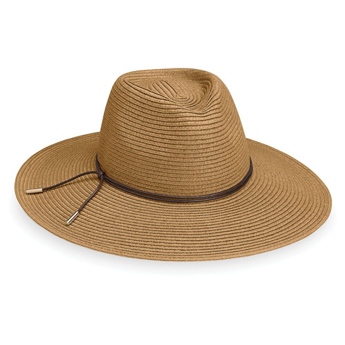 Womens Wallaroo Montecito UPF50 hat camel