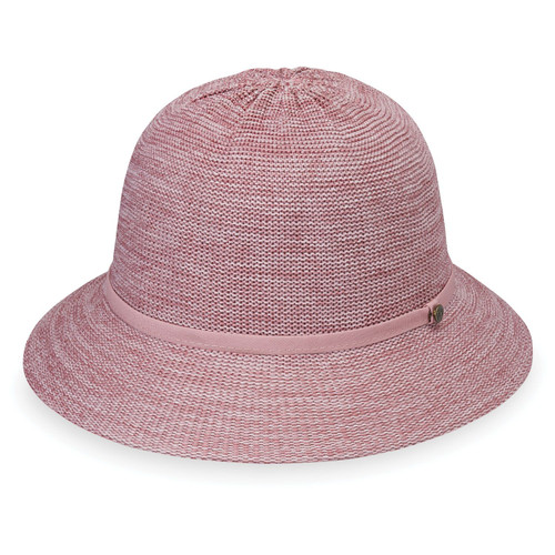 Womens wallaroo UPF50+ Tori bucket hat mixed rose