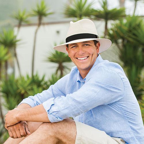 Mens wallaroo palm beach upf50 sun hat