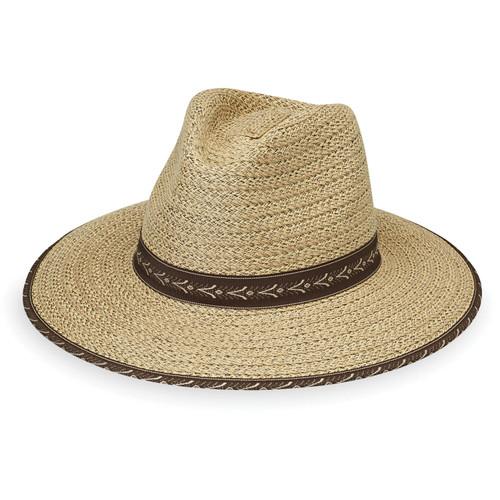 Men's Wallaroo Cabo surf style fedora hat upf50
