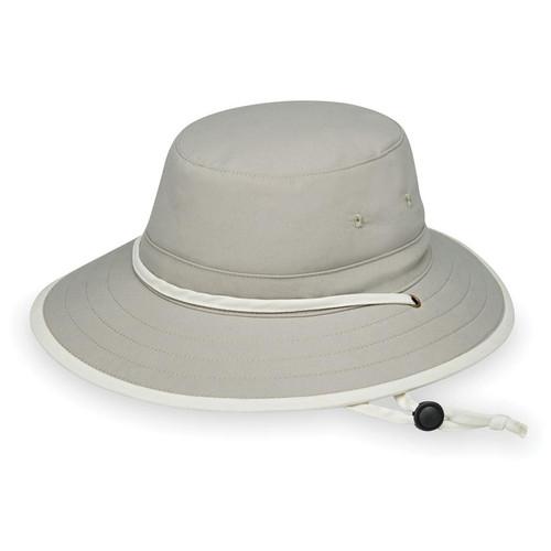 Wallaroo Ladies explorer upf50 safari style hat stone natural