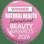 Natural health beauty awards winner sunscreen