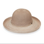 Womens Wallaroo hat company victoria two toned latte mixed beige