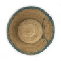 Womens Wallaroo camille raffia beach hat turquoise top