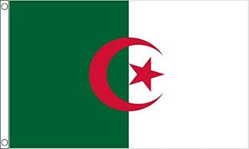 Algeria Flag 5ft X 3ft