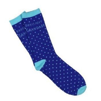 Bebunni Cotton Socks (Size 8-12) Brilliant Grandad