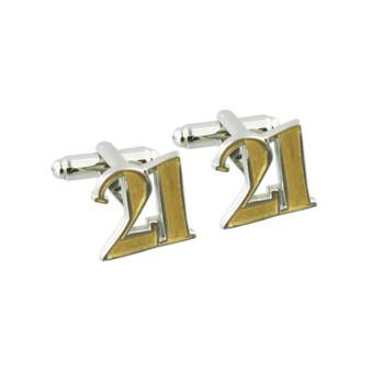 21 Birthday Wendy Jones-Blacket Diecast Cufflinks