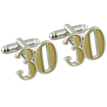 30 Birthday Wendy Jones-Blacket Diecast Cufflinks