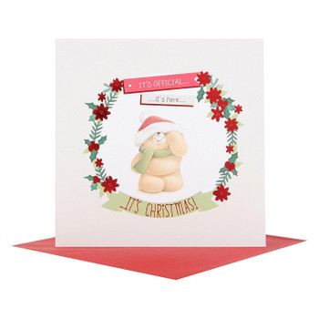 Hallmark Forever Friends Christmas Card 'Merry Ever After' Small Square