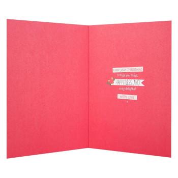 Hallmark Forever Friends Christmas Card 'Across The Seas' Medium